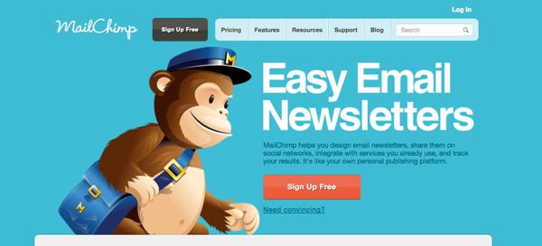 MailChimp Brand Repositioning